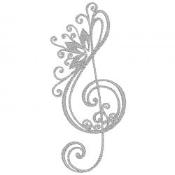 Note de musique - Clé de...