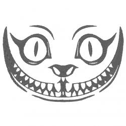 Sourire chat Alice aux pays...