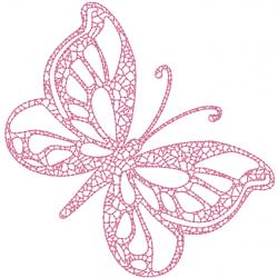 Papillon Redwork