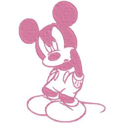 Mickey en colère