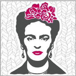 Fryda Kahlo - portrait...