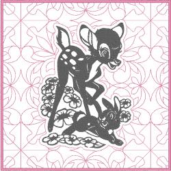 Bambi et Panpan - portrait...