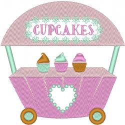 Marchand de cupcakes