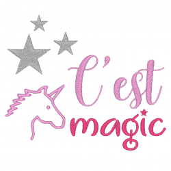 Licorne c'est magic