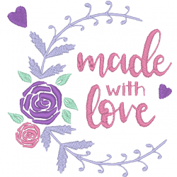 Cadre Made with love