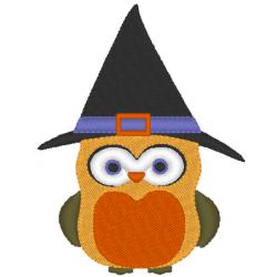 Hibou d'halloween