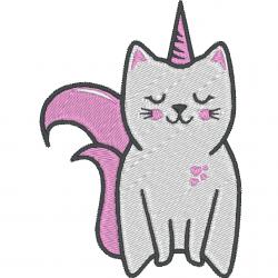 Chat licorne - caticorn