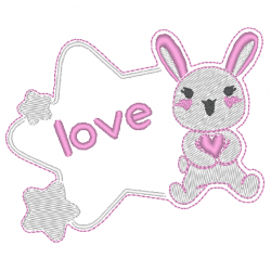 Lapin love kawaii