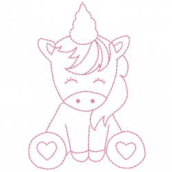 Licorne - unicorn bébé