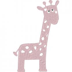 Girafe naissance