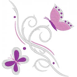 Petit ornement papillon
