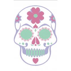 Crâne romantique