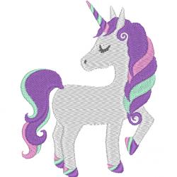 Licorne - unicorn fière