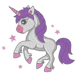Licorne - unicorn petit poney