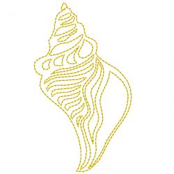 Motif Coquillage quilt