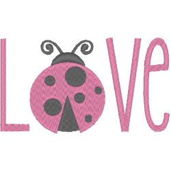 Love coccinelle