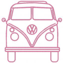 Combi VW de face