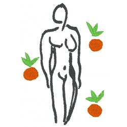Matisse nu aux oranges