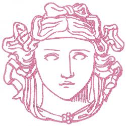 Portrait classique antique