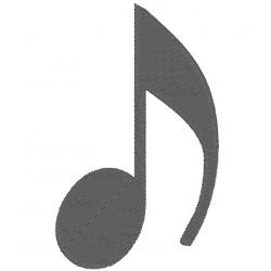 Note de musique - Croche