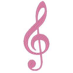 Note de musique - Clé de sol