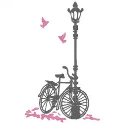Vélo et réverbère