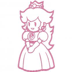 Super Mario Bross - Peach
